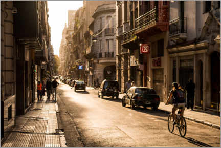 Canvas print  Streets of Buenos Aires - Marcel Gross