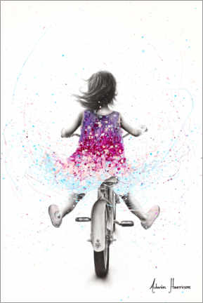Hout print  Once Upon A Dream - Ashvin Harrison