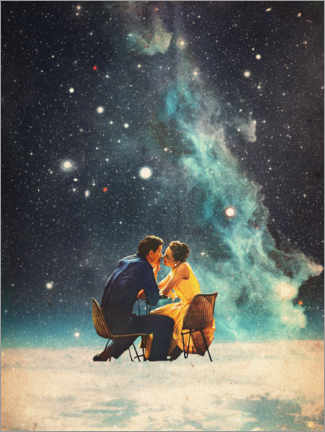 Acrylglas print  I'll Take you to the Stars for a second Date - Frank Moth