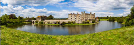 Gallery print  Leeds Castle architecture - Matthew Williams-Ellis