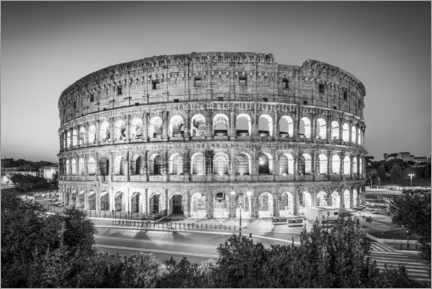 Acrylglas print  The Colosseum in Rome, Italy - Jan Christopher Becke