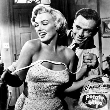 Acrylglas print  The Seven Year Itch - Potato Chips - Celebrity Collection