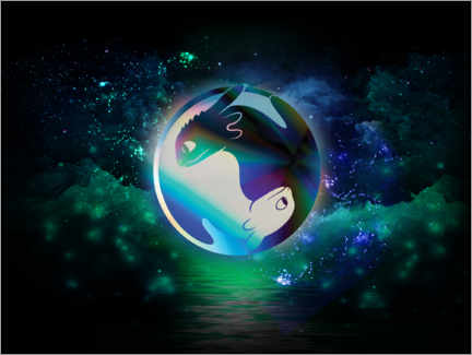 Gallery print  Yin and Yang - Night and Light