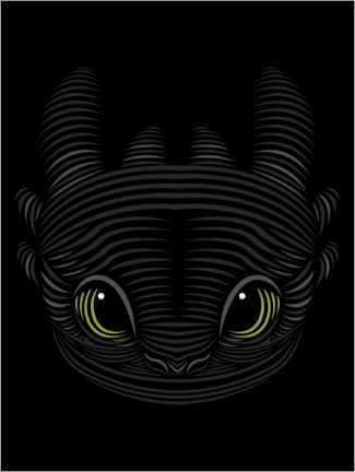 Canvas print  Toothless
