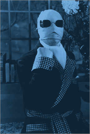 Hout print  The Invisible Man (1933)
