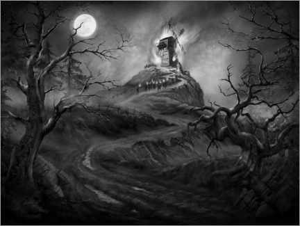 Canvas print  Frankenstein - the old mill