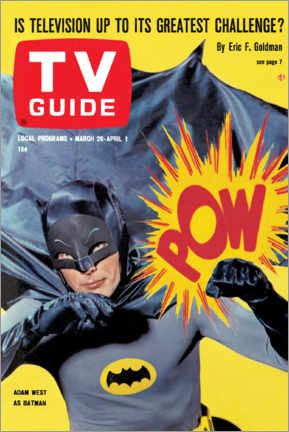 Premium poster  Batman - TV Guide Cover 1966 - TV Guide