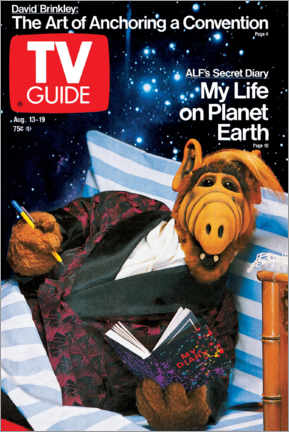 Canvas print  ALF - My Life on Planet Earth - TV Guide