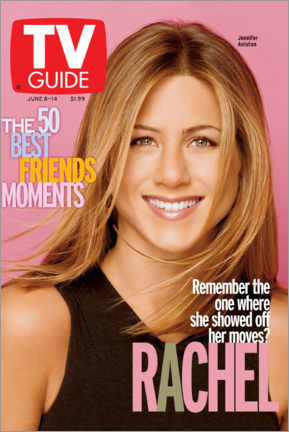 Premium poster  Rachel - Friends - TV Guide
