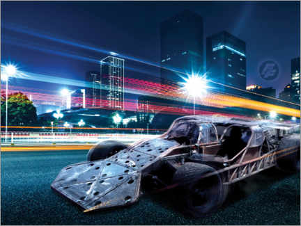 Premium poster  The Fast and the Furious - City Lights