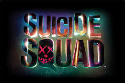 Gallery print  Suicide Squad - Neon sign