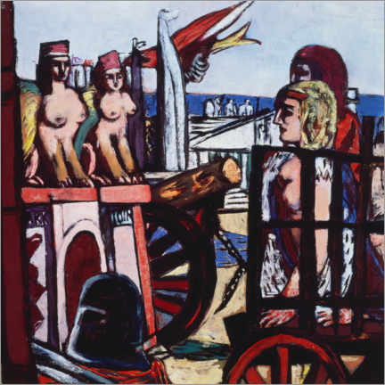 Gallery print  Removal of the sphinxes - Max Beckmann