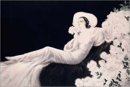 Acrylglas print  Loves the bloom - Louis Icart