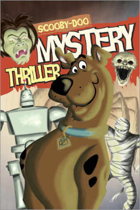 Canvas print  Scooby-Doo - Mystery Thriller