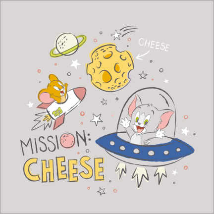 PVC print  Tom & Jerry - Mission Cheese
