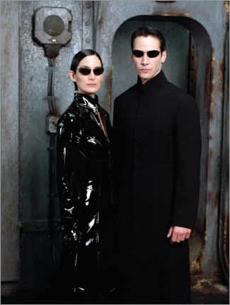 Canvas print  The Matrix Reloaded - Neo and Trinity