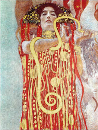 Gallery print  Hygieia detail from the medicine - Gustav Klimt