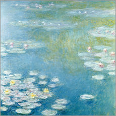 Gallery print  Nympheas at Giverny - Claude Monet