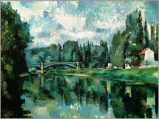 Gallery print  The Banks of the Marne at Creteil - Paul Cézanne