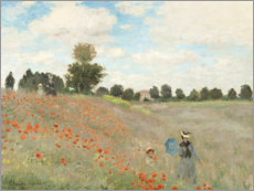 Canvas print  Klaprozen - Claude Monet