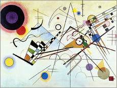 Muursticker  Composition no. 8 - Wassily Kandinsky