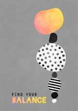 Gallery print  Find your balance - Elisabeth Fredriksson