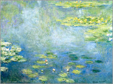 Gallery print  Vijver met waterlelies - Claude Monet