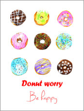 Gallery print  Donuts - Rongrong DeVoe