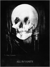 Gallery print  All is Vanity - Charles Allan Gilbert