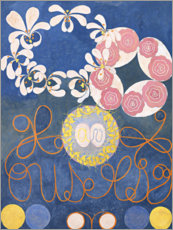 Canvas print  De Tien Grootste, nr. 1, De Kindertijd - Hilma af Klint