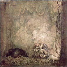 Gallery print  Mother's love - John Bauer