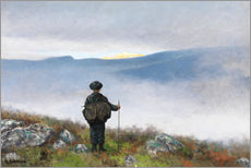 Gallery print  Far, far away Soria Moria Palace shimmered like Gold - Theodor Kittelsen