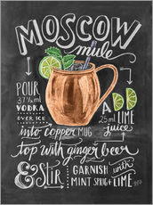 Gallery print  Moscow Mule - Lily & Val