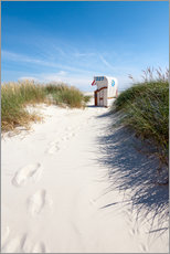 Gallery print  Sunny day on the beach - Reiner Würz