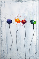 Gallery print  Four flowers - Yannick Leniger