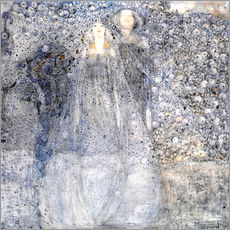 Gallery print  Silver Apples - Margaret MacDonald Mackintosh