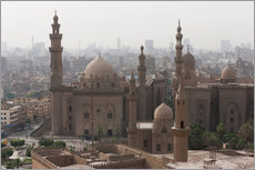 Muursticker  Mosque of Sultan Hassan in Cairo old town, Cairo, Egypt, North Africa, Africa - Martin Child