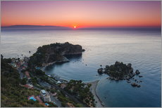 Muursticker  Isola Bella at sunrise - Matthew Williams-Ellis
