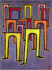 Muursticker  Revolution of the Viaduct - Paul Klee