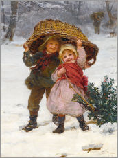 Gallery print  Christmas time - Frederick Morgan