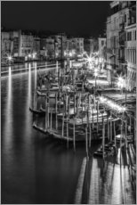 Gallery print  VENEDIG View from Rialto Bridge - Melanie Viola