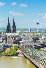 Muursticker  Cologne Cathedral (Cathedral of St. Peter) - rclassen