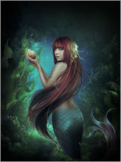 Muursticker  Deep sea 2 - Elena Dudina