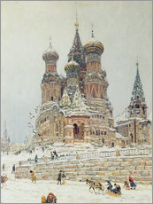 Muursticker  St. Basil's Cathedral - Nikolay Nikanorovich Dubovskoy