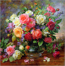 Gallery print  Roses - the perfection of summer - Albert Williams
