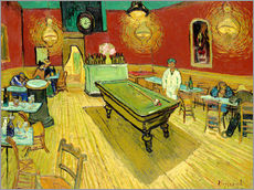 Muursticker  Night Cafe in Arles - Vincent van Gogh