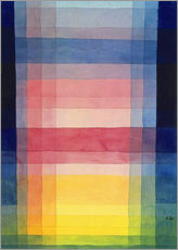 Gallery print  Architecture of the plain - Paul Klee