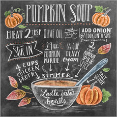 Gallery print  Pumpkin soup recipe - Lily & Val