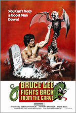 Gallery print  Bruce Lee Fights Back from the Grave - Entertainment Collection