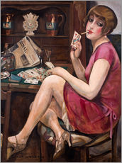Gallery print  Queen of the Hearts - Gerda Wegener